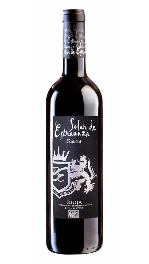 Vino Rioja Tinto Crianza - Solar de Estraunza