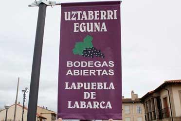 Lapuebla de Labarca celebra el Uztaberri Eguna
