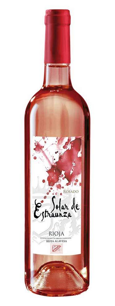 Vino de Rioja Alavesa Rosado Solar de Estraunza