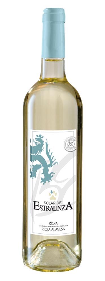 Vino Blanco de Rioja Solar de Estraunza
